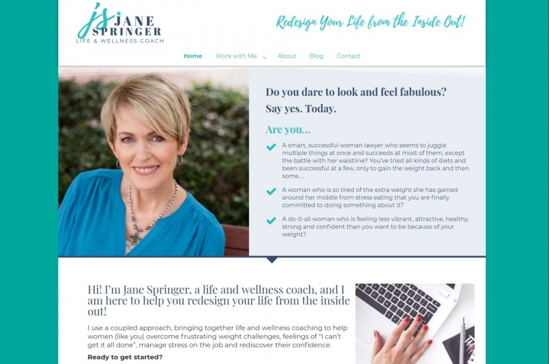 Website Development Jane Springer