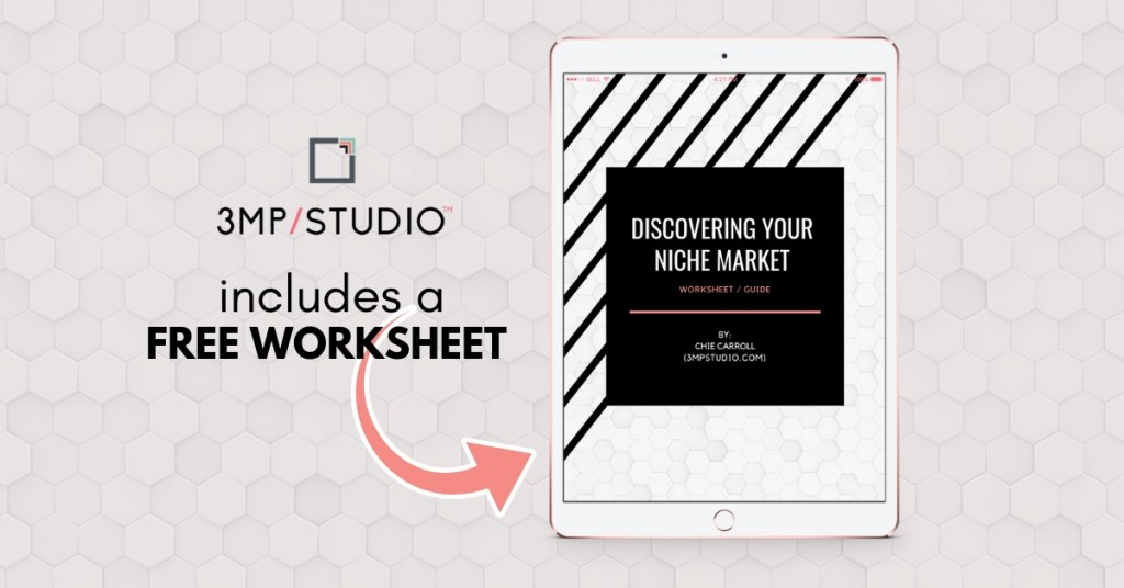 Free Worksheet Download - Discovering Your Niche Market