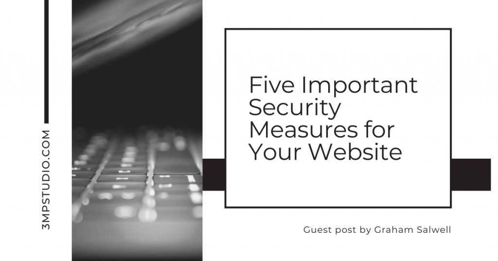 5 important security measures for your website
